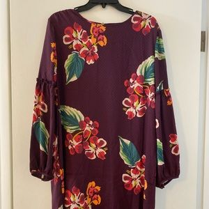 The perfect floral fall dress